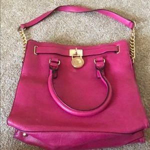 Handbags - Bright pink shoulder bag